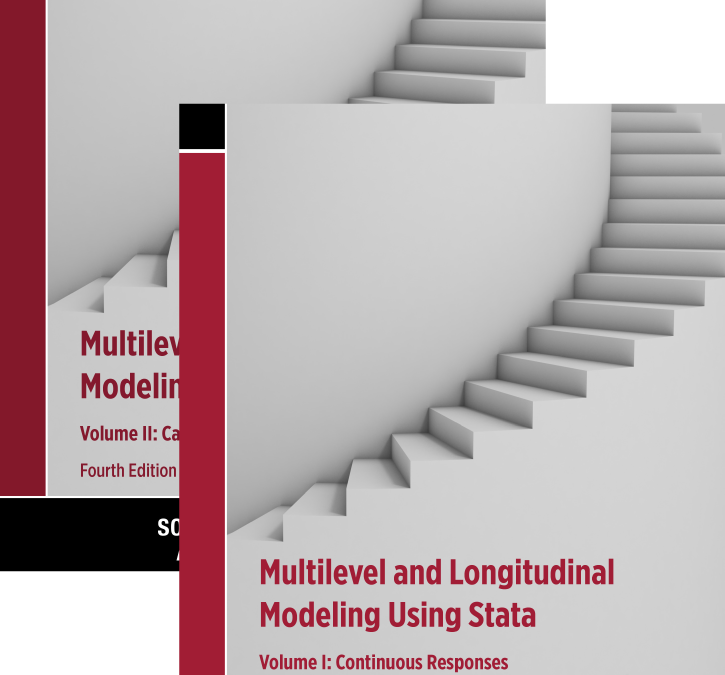 NEU – Multilevel and Longitudinal Modeling Using Stata, Fourth Edition – Vol. I + II